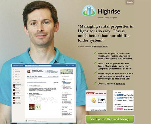 instantShift - Landing Page of Highrisehq