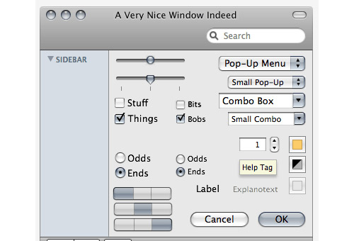 instantShift - Awesome Free iDevices (iPhone, iPad, iOS) GUI Elements