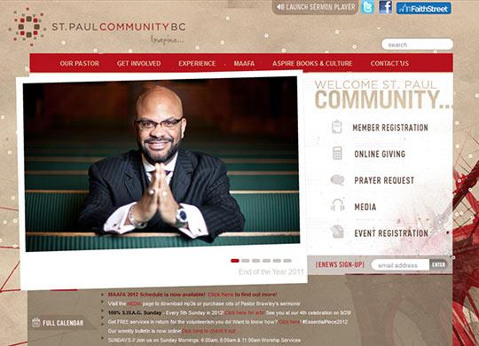 instantShift - Well-Designed Church Websites