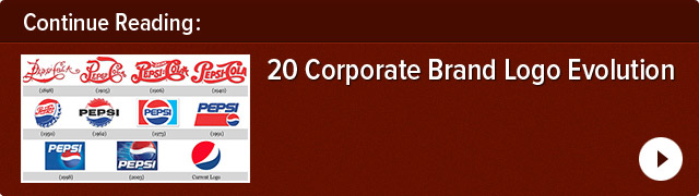 20 Corporate Brand Logo Evolutions