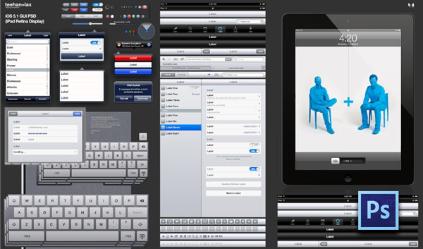instantShift - Free Application GUI - iPad Retina
