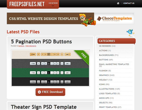 instantShift - Free PSD-files - Free PSD Files