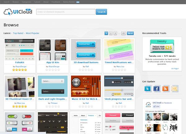 instantShift - Free PSD-files - UI Cloud