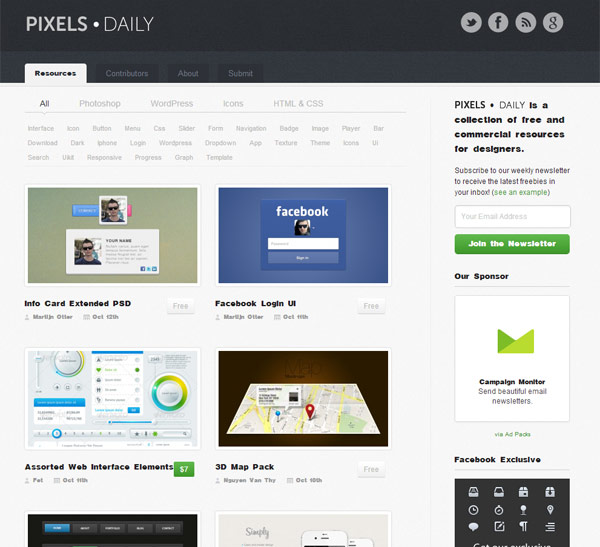instantShift - Free PSD-files - Pixels Daily