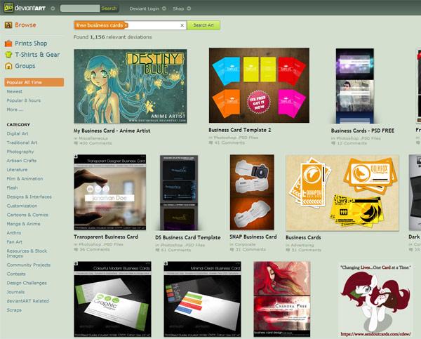 instantShift - Free Business Cards - DeviantArt
