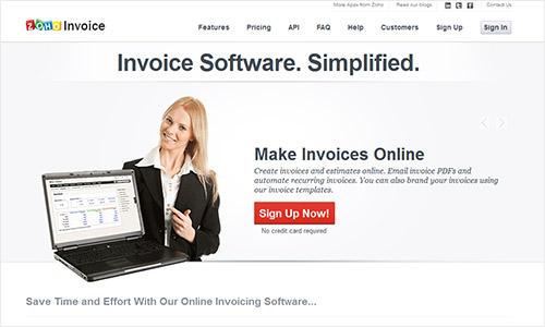 instantShift - Zoho Invoice