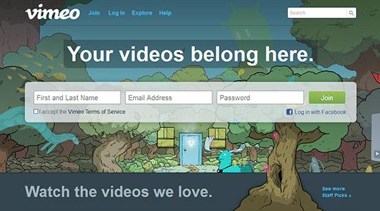 instantShift - Video Marketing via Vimeo