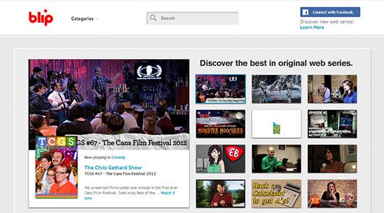 instantShift - Video Marketing via Blip.tv