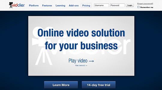 instantShift - Video Marketing via Viddler