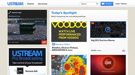instantShift - Video Marketing via Ustream.tv