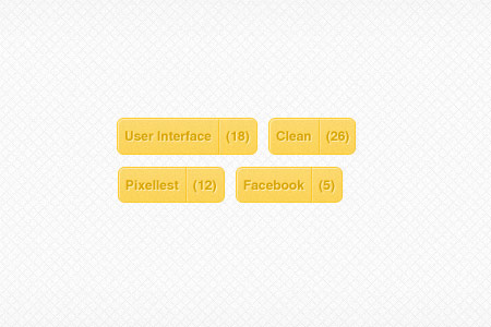 instantShift - Beautiful Free Tags PSD Designs