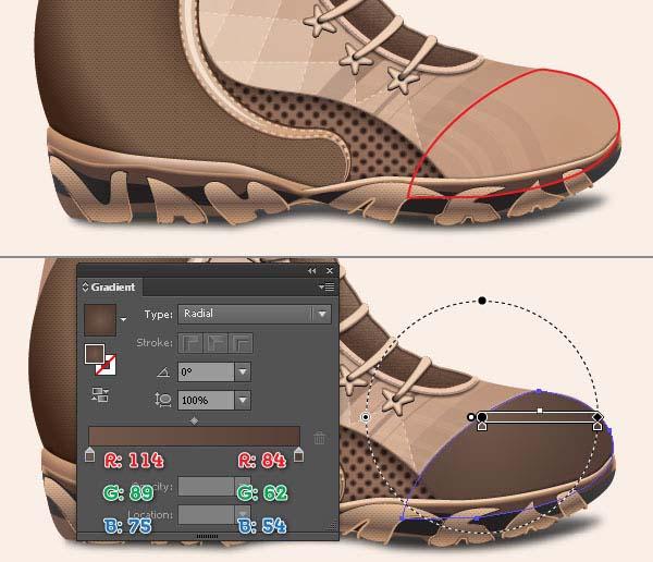 instantShift - Create a Cool Shoe in Illustrator
