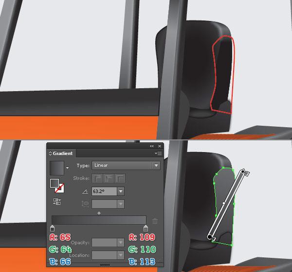 instantShift - Create a Forklift Truck in Illustrator