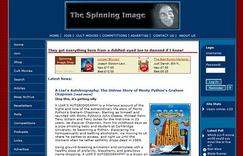 instantShift - The Spinning Image
