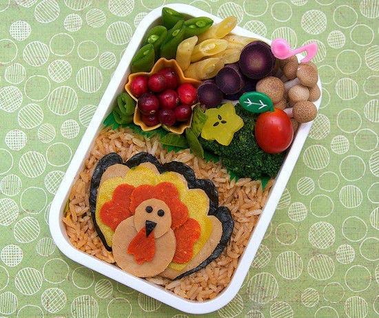 Turkey day bento