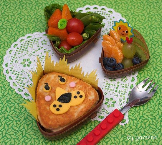 Lioness bento