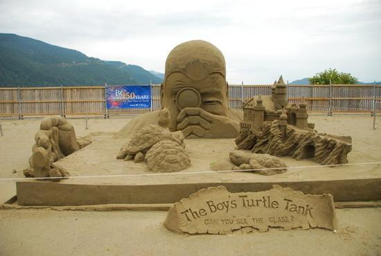 Sand Sculpture,Canada 2