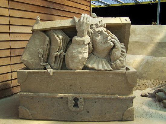 Sand sculptures II