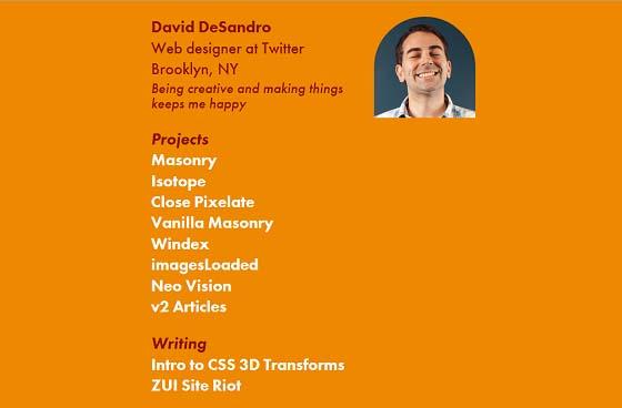 David DeSandro