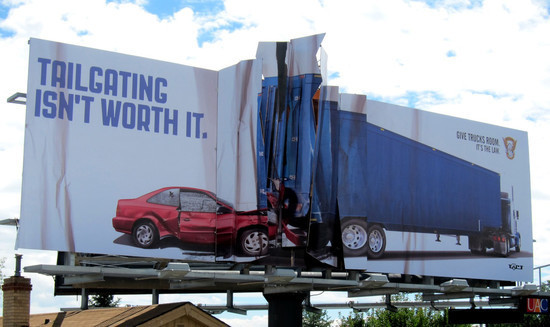 Colorado State Patrol: Billboard Collision