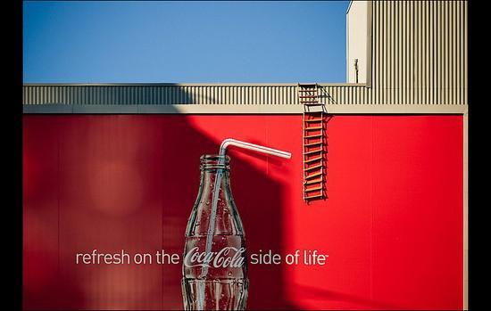 Rope Ladder Coca Billboard