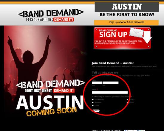 instantShift - band-demand