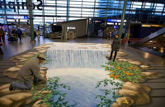 Schiphol luchthaven - Amsterdam December 2009