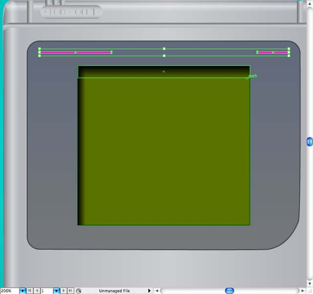instantShift - Creating Gameboy Screen