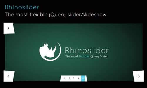 jQuery Slider - Rhinoslider