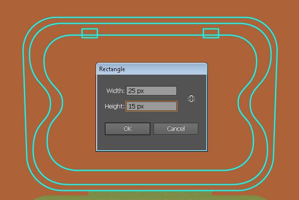 Create the Egg Box in Illustrator