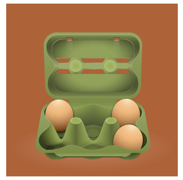 Create the Background for the Egg Box