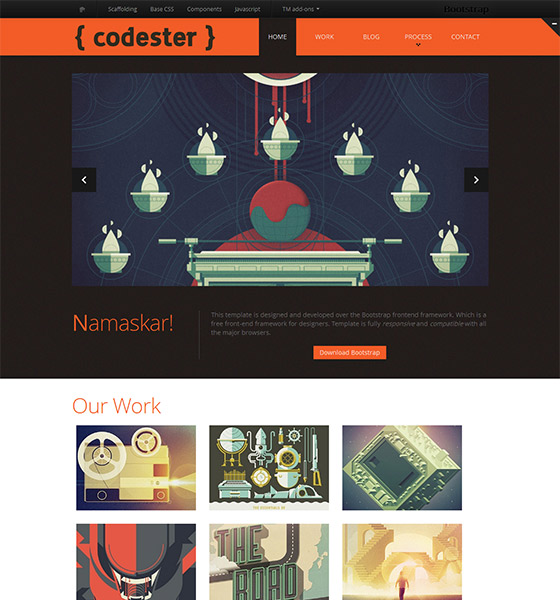 Codester - Free Responsive HTML5 Template