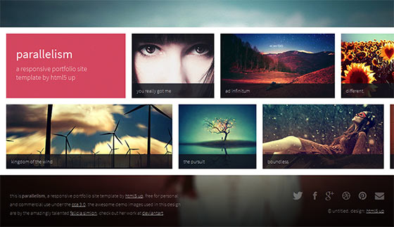Parallelism - Free Responsive HTML5 Template
