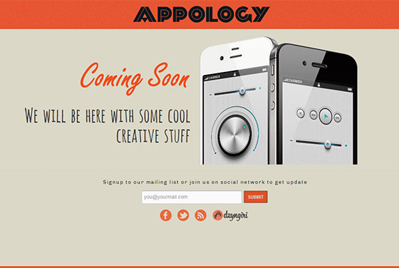 Appology - Free Responsive HTML5 Template