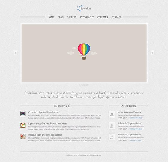 Socialike - Free Responsive HTML5 Template