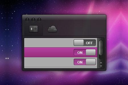 Beautiful Free Settings Box PSD Designs