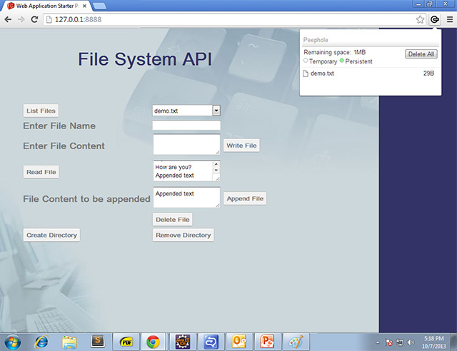 Appending to a File
