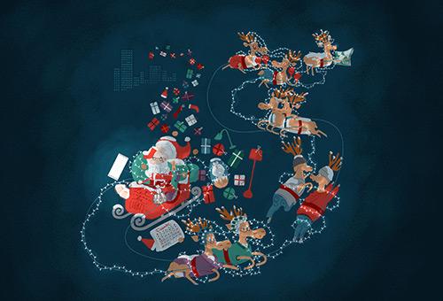 Beautiful Christmas Wallpapers 2013
