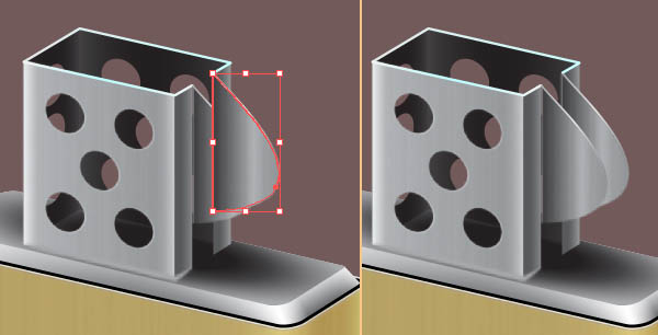 Create the Lid of the Zippo