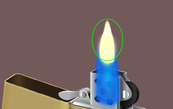 Create the Flame for the Zippo