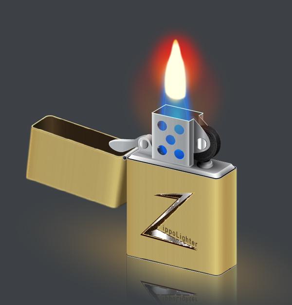 Create a Zippo Lighter in Illustrator
