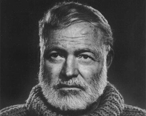 Writer - Ernest Hemingway