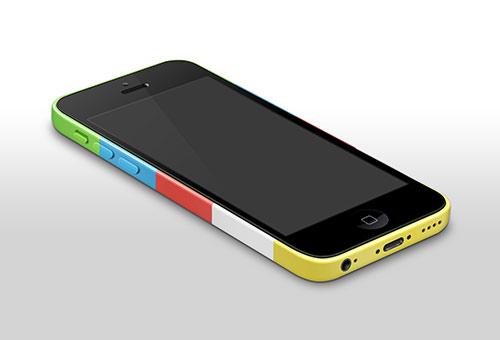instantShift - Beautiful iPhone Mockup PSD Designs