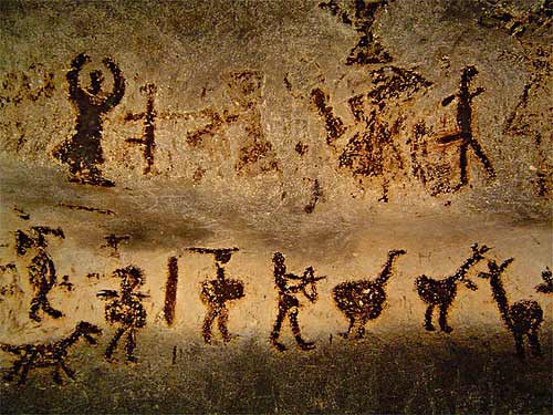 The First Illustrations Made By Cavemen
