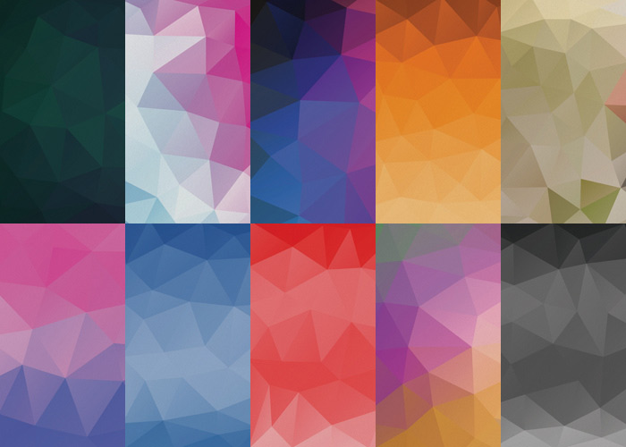 The Free Geometric Abstract Background Set