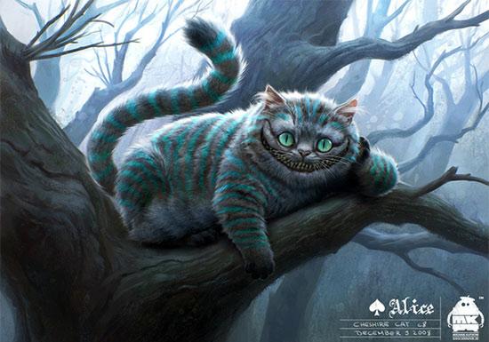 Illustration from Alice in Wonderland Movie Website