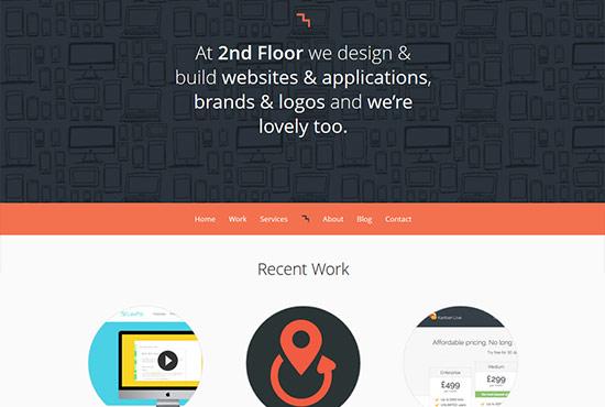 Illustration in Web Design - 2nd Floor