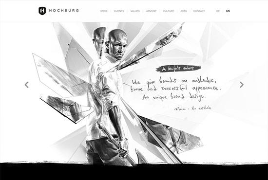 Illustration in Web Design - Hochburg