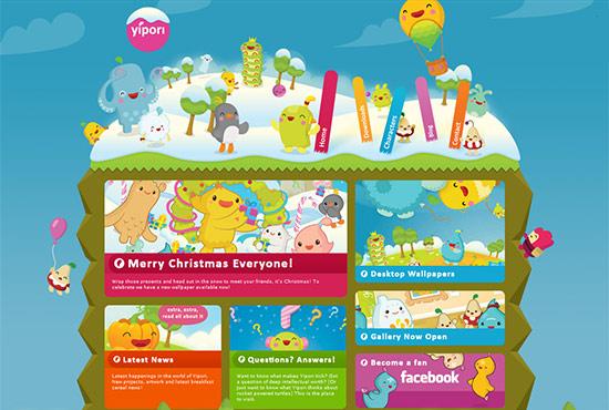 Illustration in Web Design - Yipori