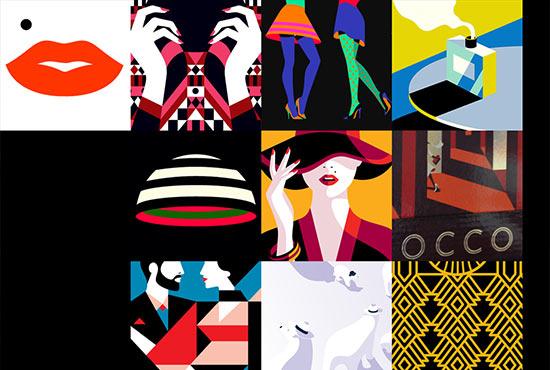Illustration in Web Design - Malika Favre